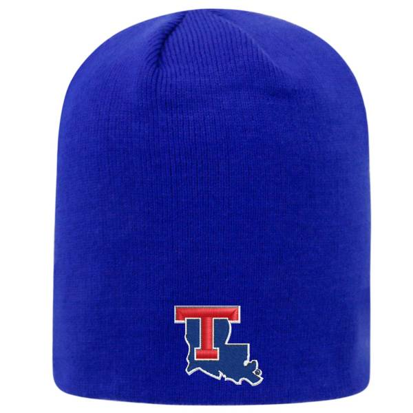Top of the World Men's Louisiana Tech Bulldogs Blue TOW Classic Knit Beanie product image