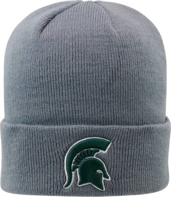 Top of the World Men's Michigan State Spartans Grey Cuff Knit Beanie product image