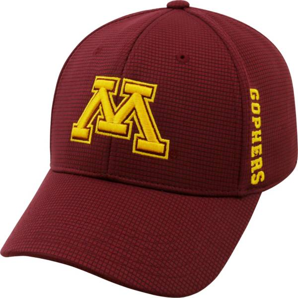 Top of the World Men's Minnesota Golden Gophers Maroon Booster Plus 1Fit Flex Hat product image