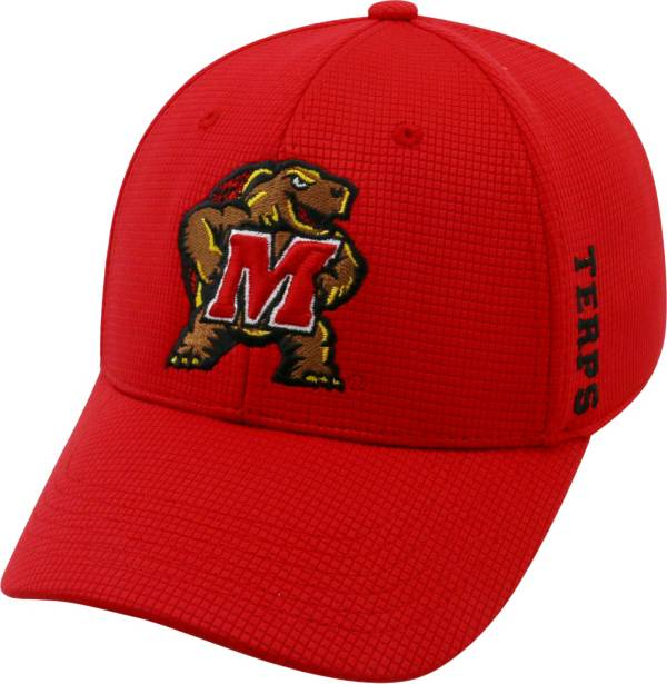 Top of the World Men's Maryland Terrapins Red Booster Plus 1Fit Flex Hat product image