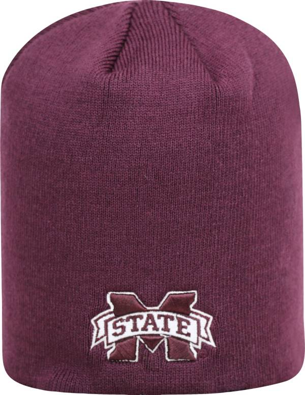 Top of the World Men's Mississippi State Bulldogs Maroon TOW Classic Knit Beanie product image