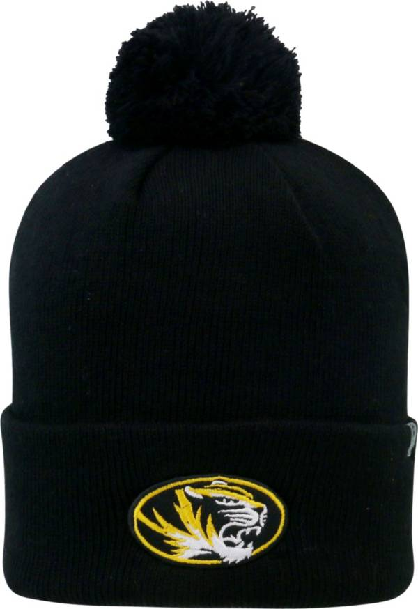 Top of the World Men's Missouri Tigers Black Pom Knit Beanie product image