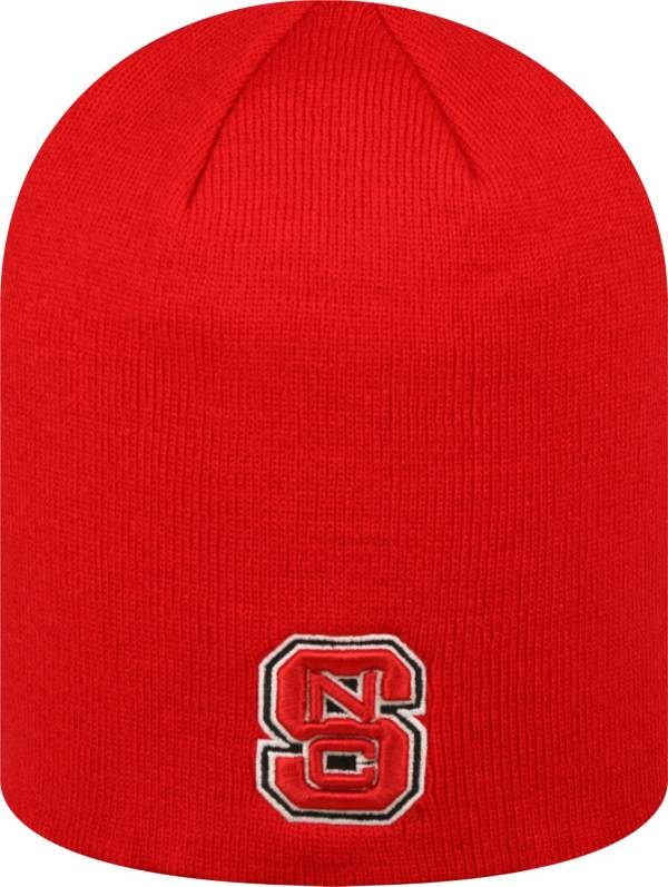 Top of the World Men's NC State Wolfpack Red TOW Classic Knit Beanie product image