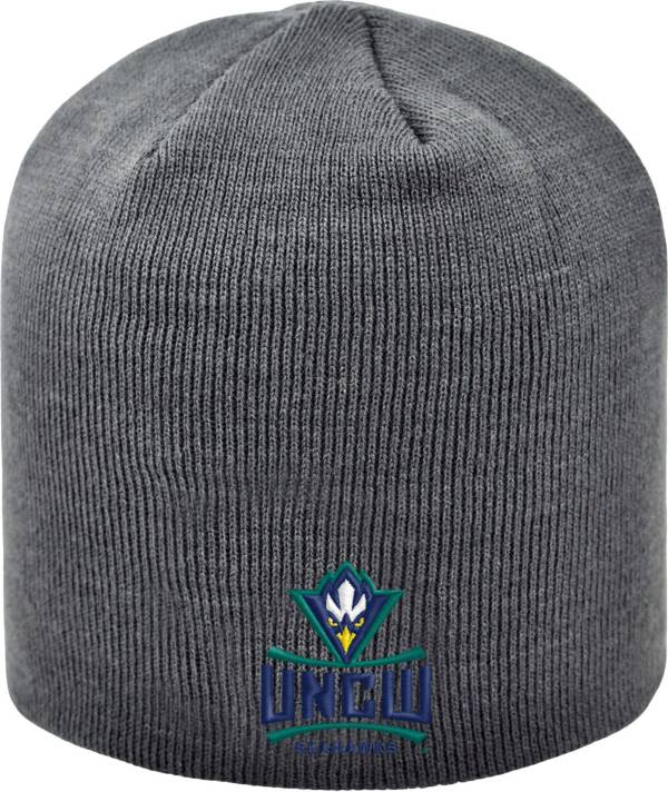 Top of the World Men's UNC-Wilmington Seahawks Grey TOW Classic Knit Beanie product image