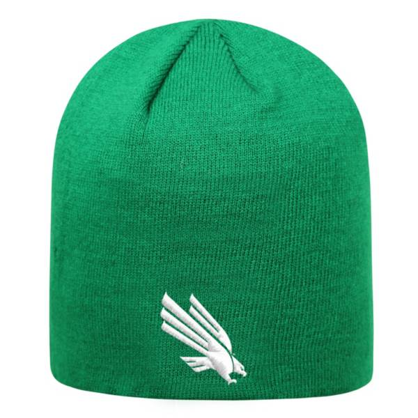Top of the World Men's North Texas Mean Green Green TOW Classic Knit Beanie product image