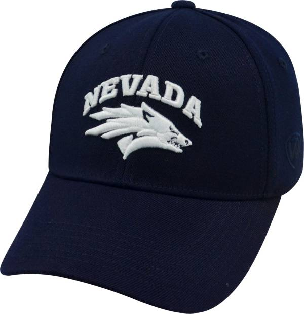 Top of the World Men's Nevada Wolf Pack Blue Premium Collection M-Fit Hat product image