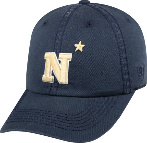 Top of the World Men's Navy Midshipmen Navy Crew Adjustable Hat product image