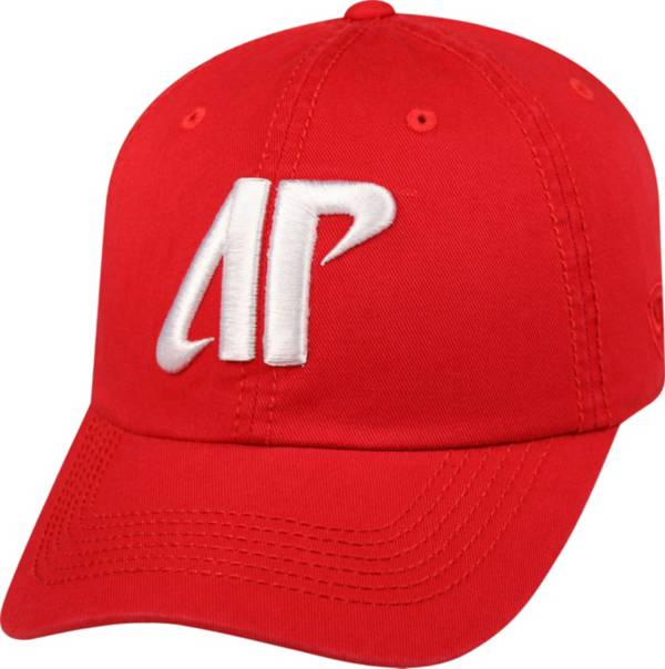 Top of the World Men's Austin Peay Governors Red Crew Adjustable Hat product image