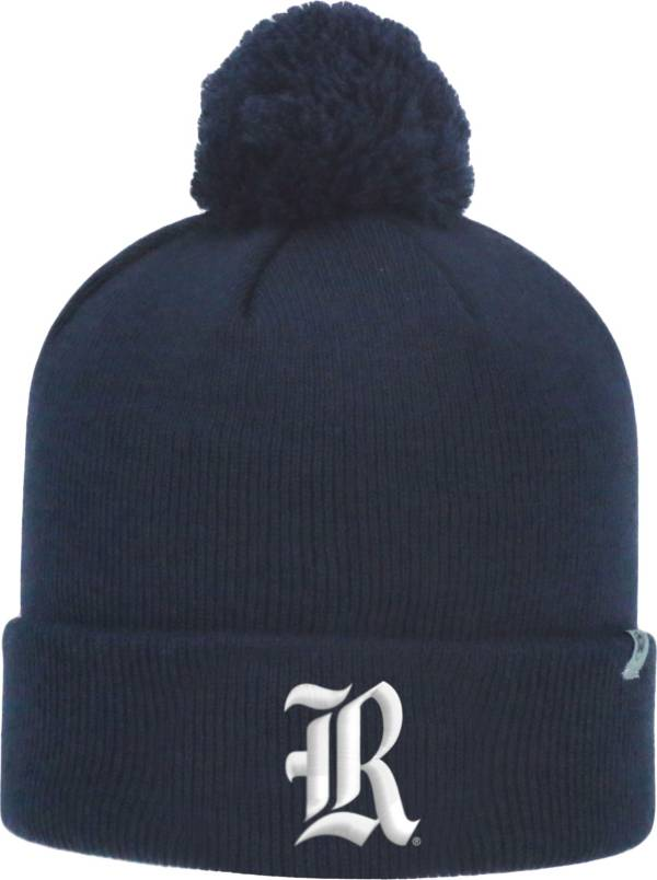 Top of the World Men's Rice Owls Blue Pom Knit Beanie product image