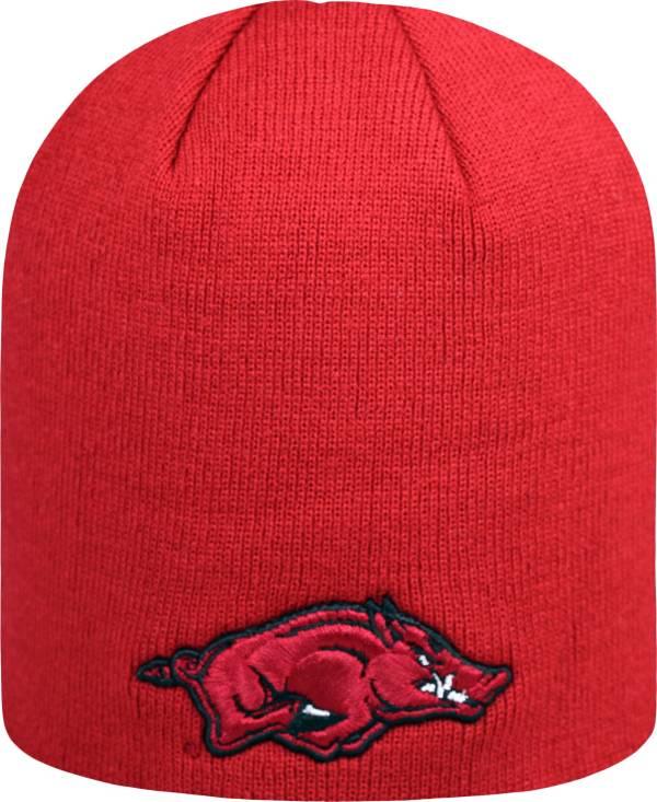 Top of the World Men's Arkansas Razorbacks Cardinal TOW Classic Knit Beanie product image