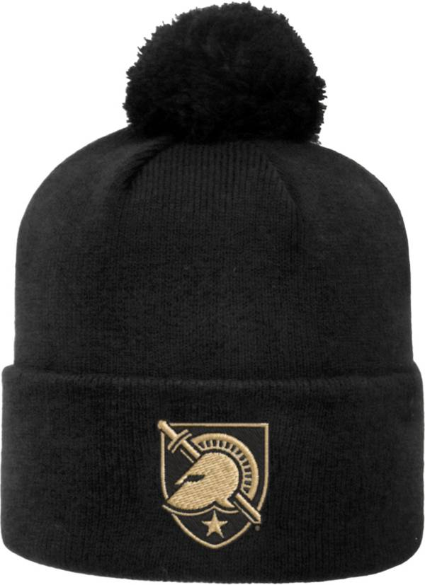 Top of the World Men's Army West Point Black Knights Army Black Pom Knit Beanie product image