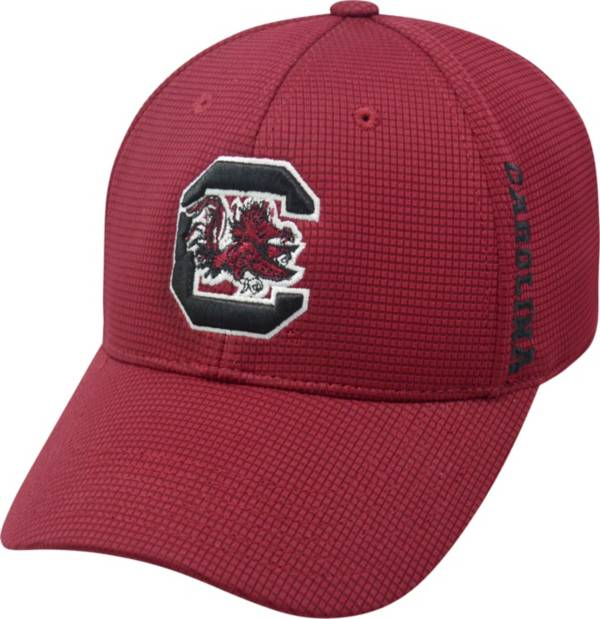 Top of the World Men's South Carolina Gamecocks Garnet Booster Plus 1Fit Flex Hat product image