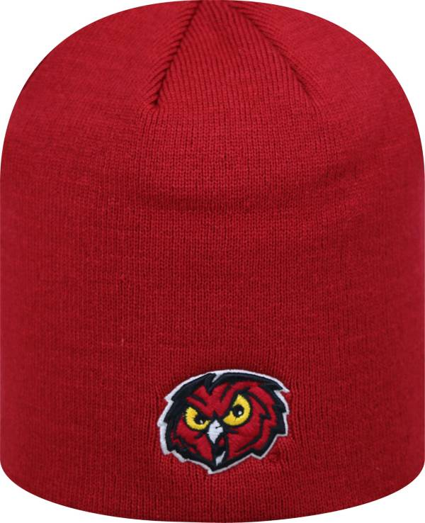 Top of the World Men's Temple Owls Cherry TOW Classic Knit Beanie product image