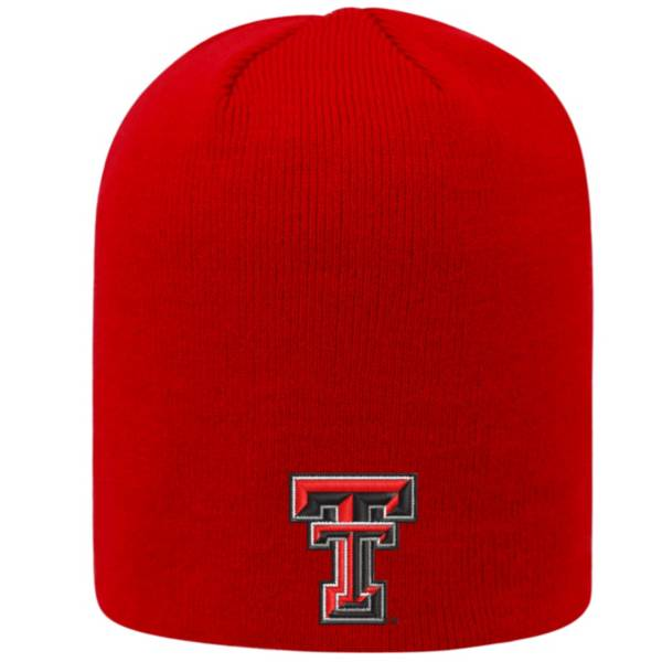 Top of the World Men's Texas Tech Red Raiders Red TOW Classic Knit Beanie product image