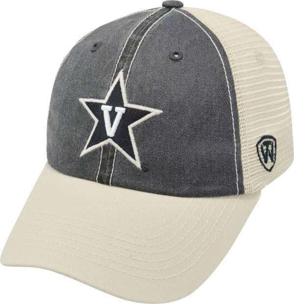 Top of the World Men's Vanderbilt Commodores Black/White Off Road Adjustable Hat product image