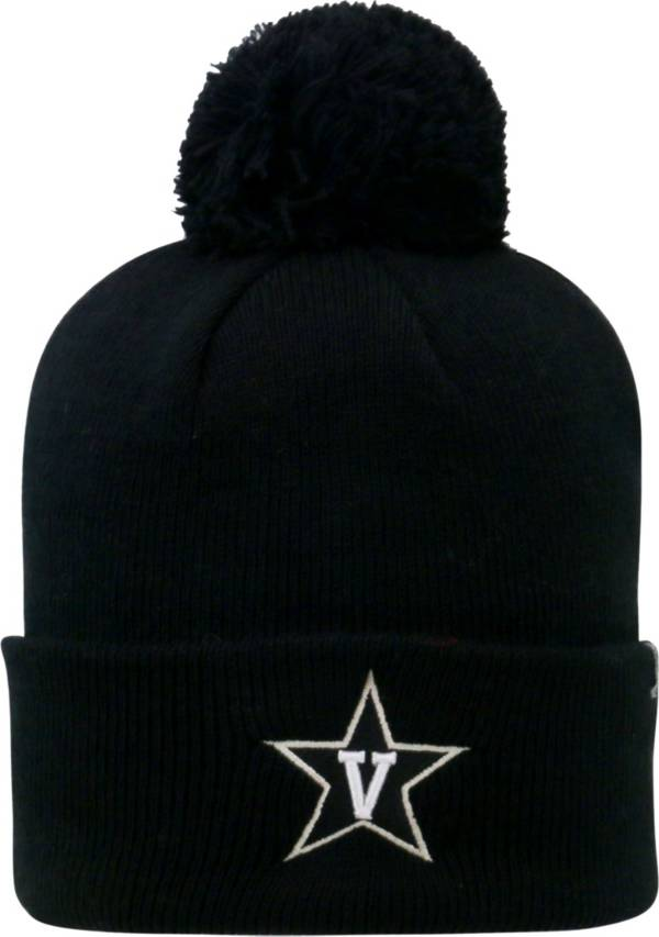 Top of the World Men's Vanderbilt Commodores Black Pom Knit Beanie product image