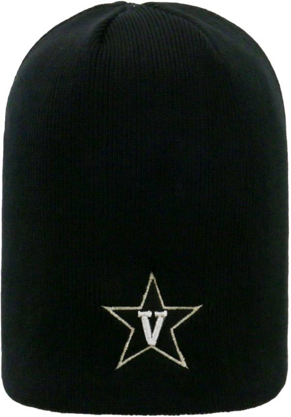Top of the World Men's Vanderbilt Commodores Black TOW Classic Knit Beanie product image