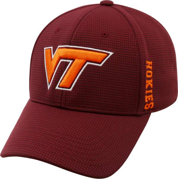 Top of the World Men's Virginia Tech Hokies Maroon Booster Plus 1Fit Flex Hat product image