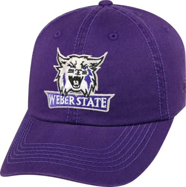 Top of the World Men's Weber State Wildcats Purple Crew Adjustable Hat product image