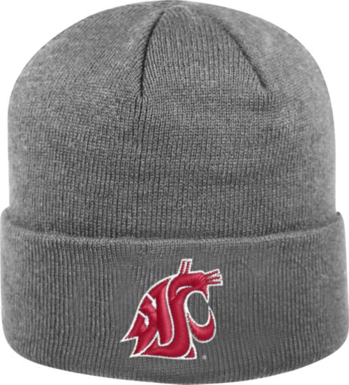 finest selection 2235a daed6 Top of the World Men s Washington State Cougars Grey Cuff Knit Beanie.  noImageFound. Previous