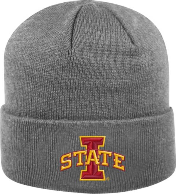 Top of the World Men's Iowa State Cyclones Grey Cuff Knit Beanie product image