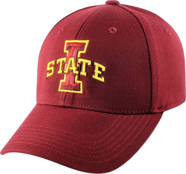 Top of the World Men's Iowa State Cyclones Cardinal Premium Collection M-Fit Hat product image