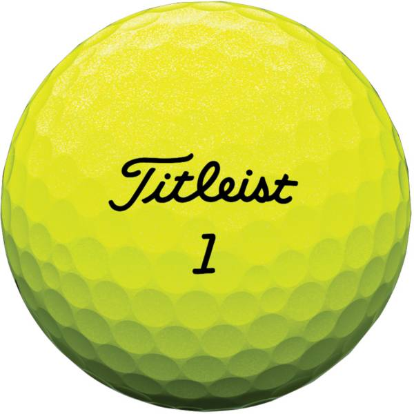 Titleist Tour Soft Yellow Golf Balls - Prior Generation product image