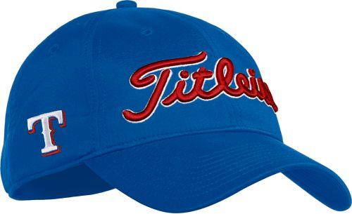 0a14cbf2965 Titleist Texas Rangers Performance Adjustable Hat 1