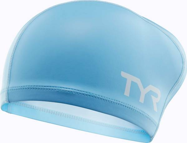 TYR Jr. Long Hair Silicone Comfort Swim Cap product image