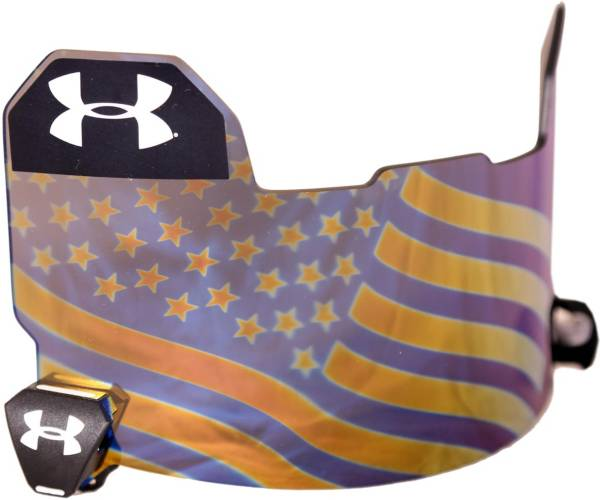 Under Armour Adult USA Hologram Mirror Football Visor product image