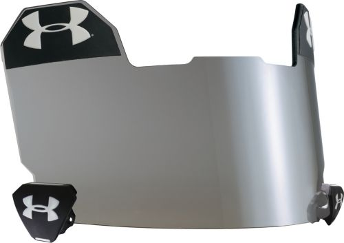 Under Armour Adult Standard Grey Football Visor W Multiflexion