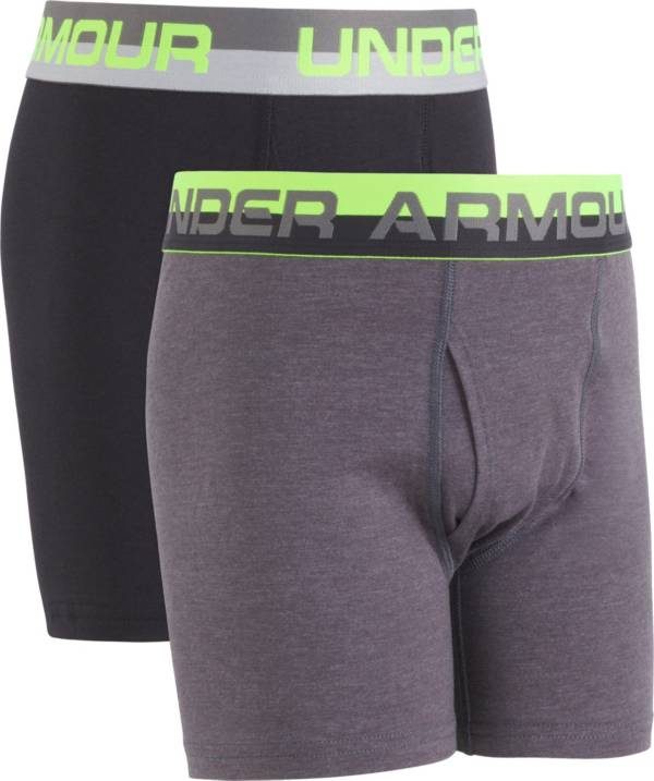 Under Armour Boy's Solid Boxer Briefs 2 Pack product image