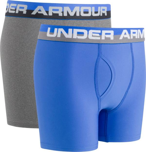 Under Armour Boys' Solid Performance Boxer Briefs – 2 Pack product image