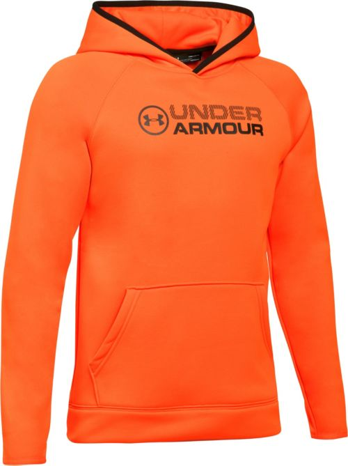 cced1485708f Under Armour Boys  Armour Fleece Stacked Logo Hoodie