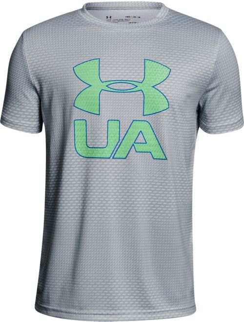 09b4cc38812d Under Armour Boys  Printed Crossfade T-Shirt. noImageFound. Previous