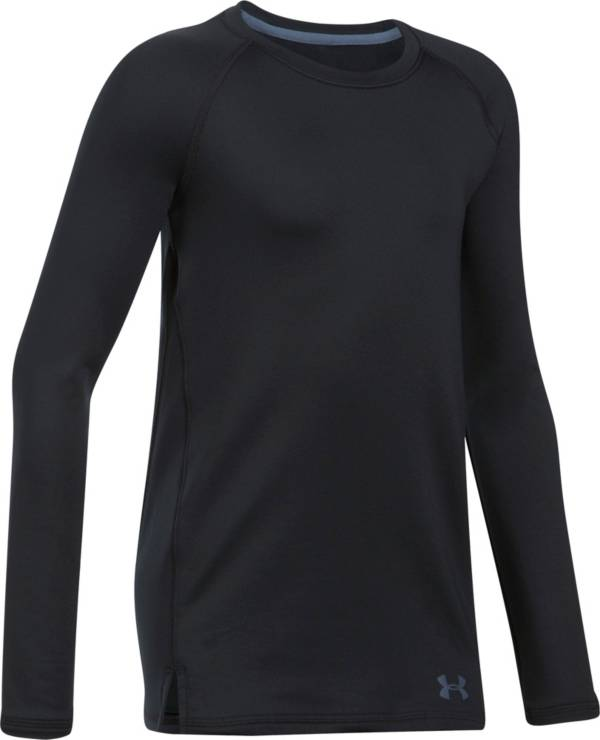 Under Armour Girls' ColdGear Crew Shirt product image