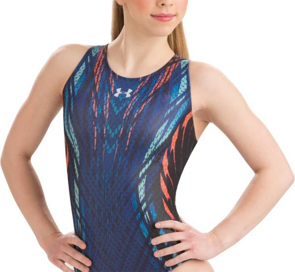 Under Armour Girls' ArmourFuse Motivate Gymnastics Leotard product image