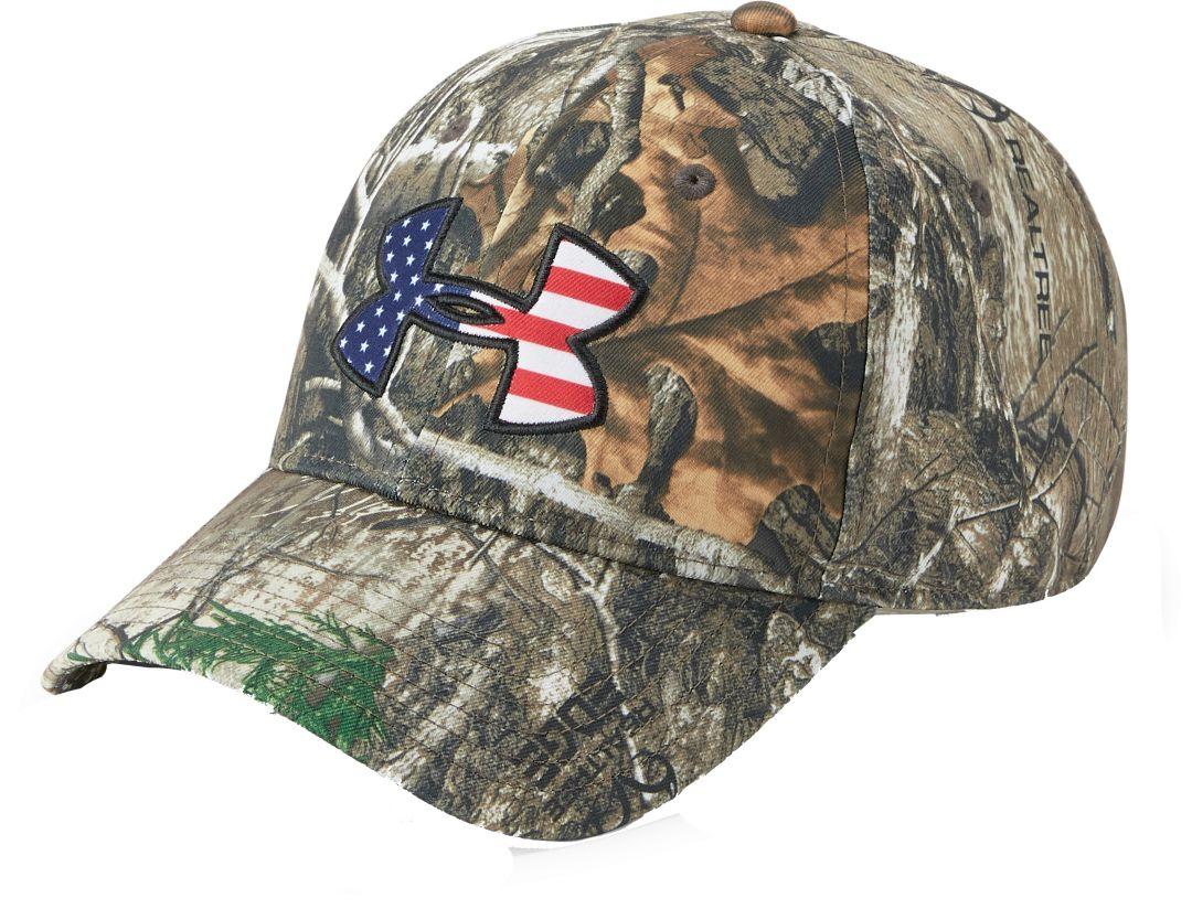 competitive price 4c0c6 3e718 Under Armour Men s Big Flag Camo Hat