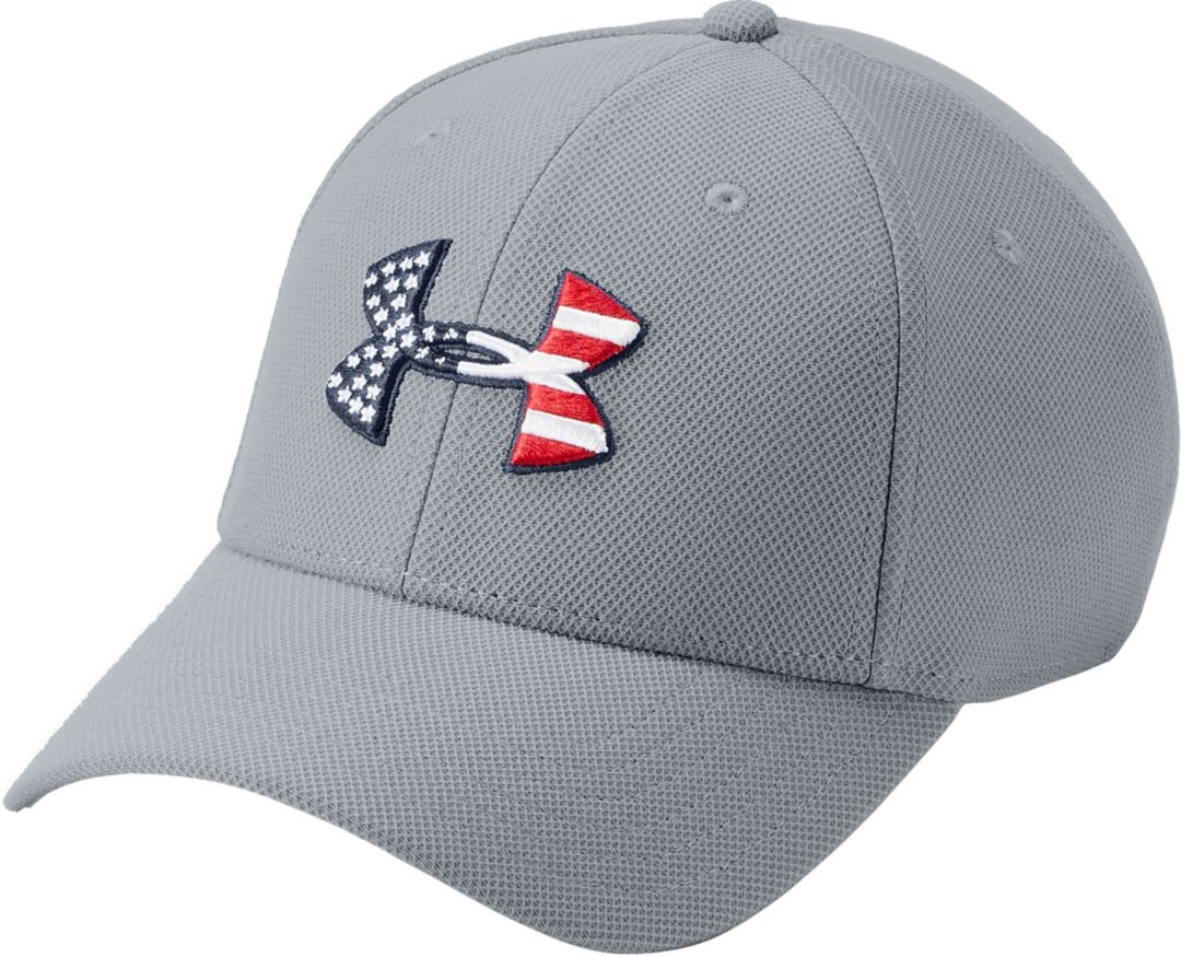 new product ef2a4 53dc9 Under Armour Men s Freedom Flag Blitzing Hat. noImageFound. Previous