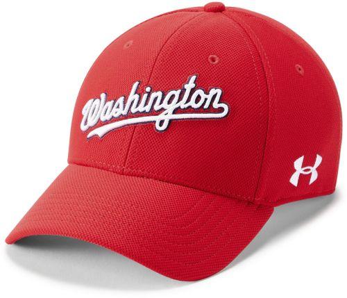 39db43d9196 Under Armour Men s Washington Nationals Blitzing Stretch Fit Hat.  noImageFound. Previous