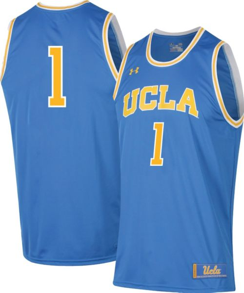 edcebd88ffb2 Under Armour Men s UCLA Bruins True Blue  1 Replica Basketball Jersey.  noImageFound. Previous
