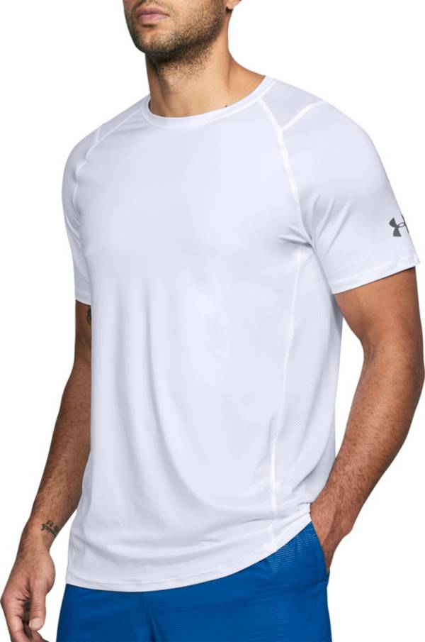 Under Armour Mens HeatGear MK-1 Raid 2.0 LS Fitness Top T-Shirt