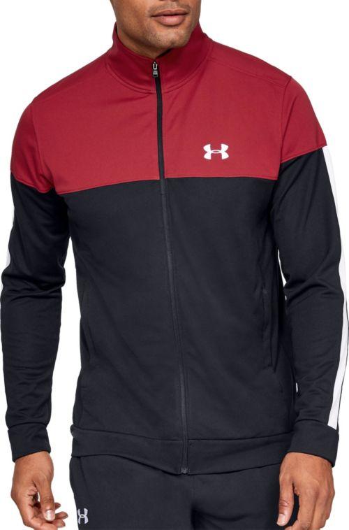 Under Armour Mens Sportstyle Pique Jacket Under Armour Apparel 1313204