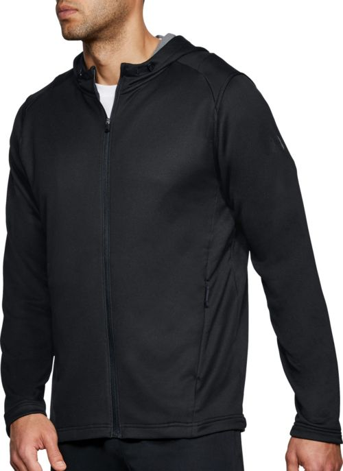 51b23765a Under Armour Men's MK-1 Terry Fleece Full Zip Hoodie. noImageFound. Previous