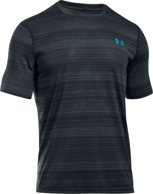 ea38bd2d4aa0 Under Armour Men s Threadborne Black Twist SportStyle T-Shirt ...