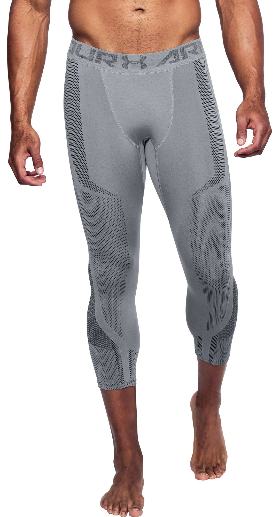 10f154fefde7c Under Armour Men's Threadborne Seamless ¾ Length Leggings. noImageFound.  Previous