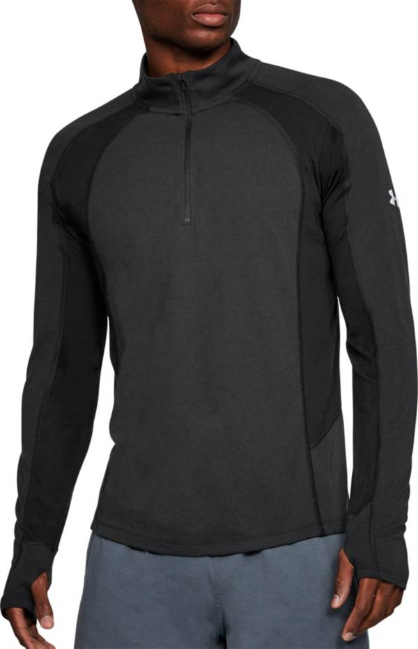 Under Armour Men's Threadborne Microthread Swyft 1/4 Zip Long Sleeve Shirt (Regular and Big & Tall) product image