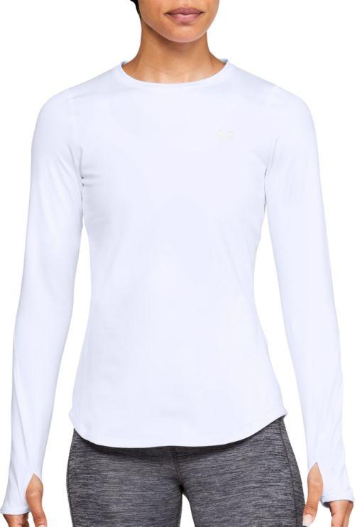 01f7340a2 Under Armour Women's ColdGear Armour Crew Long Sleeve Shirt | DICK'S ...