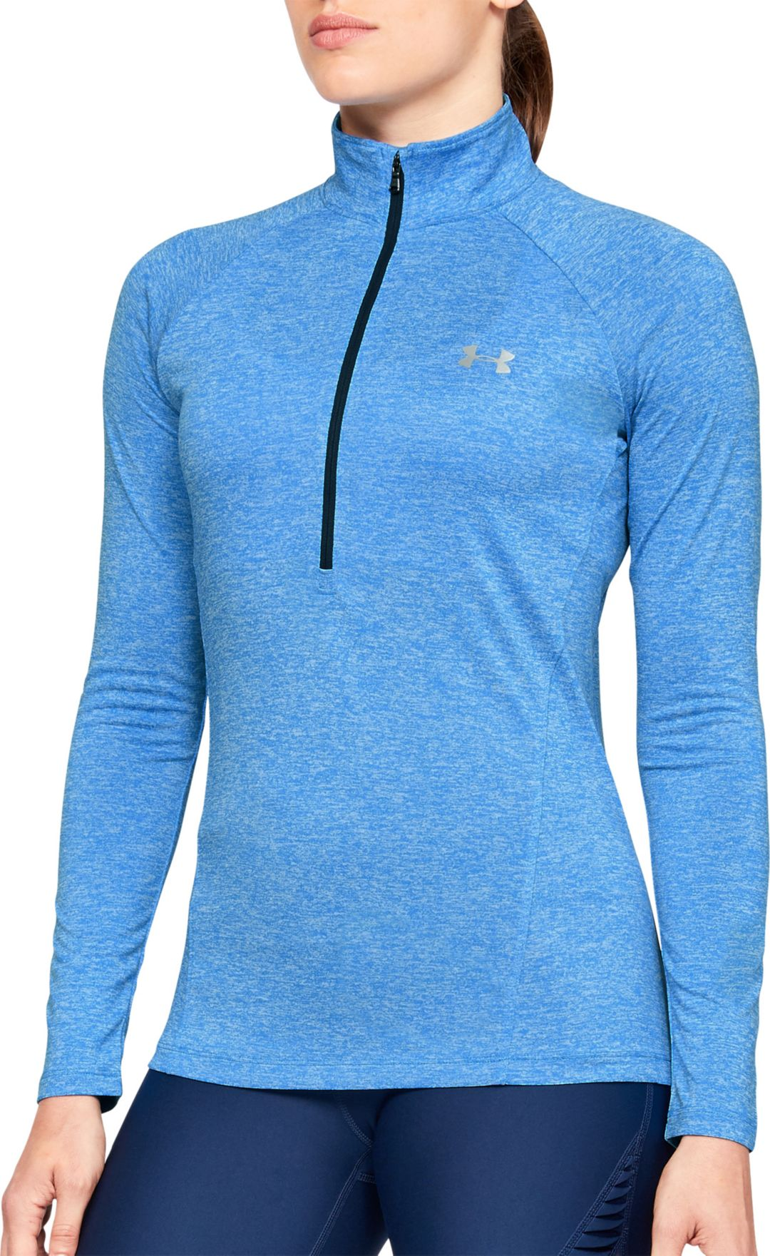 288dff50 Under Armour Women's TechTwist Print ½ Zip Long Sleeve Shirt. noImageFound.  Previous. 1