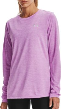 Under Armour Damen Tech Twist Crew Long-Sleeve Shirt Lang/ärmelig